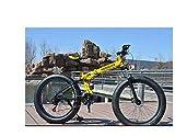 Mdsfe vélo de Montagne 7/21/24/27/30 Speed Bicycles Double Disque Freins à Vitesse Variable vélo de Course vélo de Course vélo Pliant - F, 26 Pouces, 27