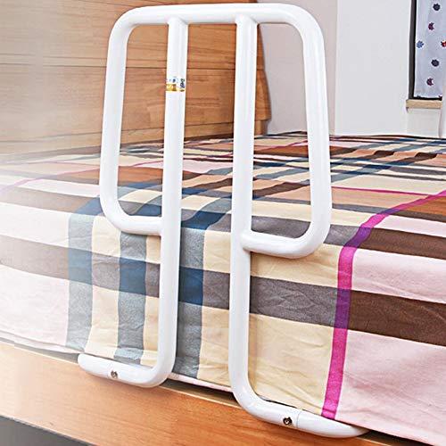 Chicti Bed Rail Safety Assist Handle Bedrooster voor ouderen en senioren, ondersteuning van de grip, handicap-bedleuning, ziekenhuis, stalen handgreepbumper, W