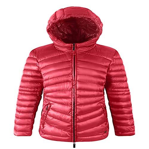 x8jdieu3 Winter Daunenjacke Damen Hoodie Baumwolle Kleidung Imitation Feder Baumwolle Samt Anzug warme dicken Mantel Frauen