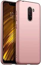 Custodia Xiaomi Pocophone F1, MUTOUREN Cover Ultra Sottile PC Protettiva Case Protezione Caso Antiurto Coperture Bumper, Oro rosa