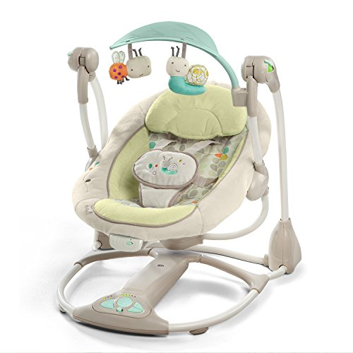 Why Choose Rabbfay Premium Baby Swing & Baby Rocker in Luxury Design, Electric Baby Swing Automatic ...