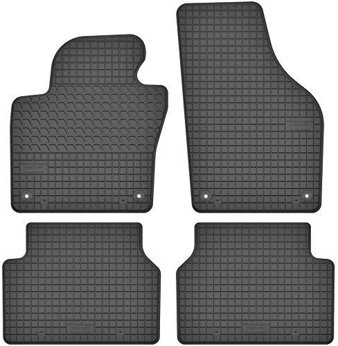 Motohobby Gummimatten Gummi Fußmatten Satz für VW Volkswagen Tiguan I (2007-2016) - Passgenau