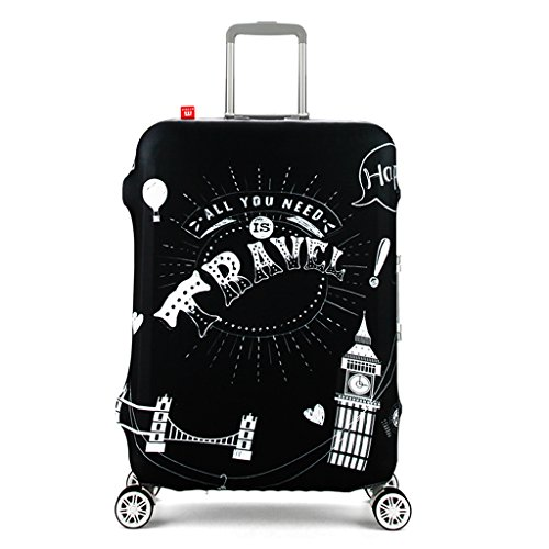 """Spinner Luggage Cover Travel Accessories18""""-32"""" Suitcase Cover For Most Suitcase …"""