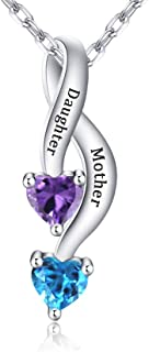 Best mother and daughter necklace uk Reviews