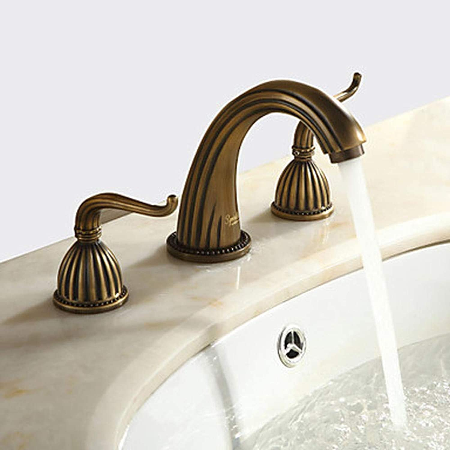 1279 Sprink Sink Faucet - Bronze, widely distributed with Three Holes