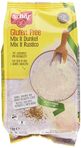 Schär Mix it Dunkel Backmischung glutenfrei 1kg, 10er Pack