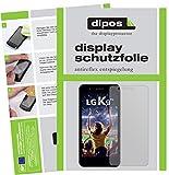 dipos I 2X Schutzfolie matt kompatibel mit LG K9 Folie Bildschirmschutzfolie