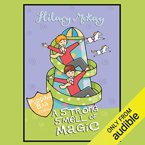 A Strong Smell of Magic audiobook cover art