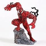 Carnicería de veneno rojo del Spiderman Pvc Figura Modelo Juguetes Regalo