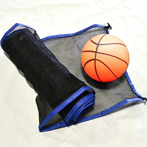 JumpKing ACC-1014RCVBN Volleyball Net & Ball 10 x 14 Foot Rectangular Trampoline