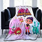 GIPHOJO A-BBY H-atcher Ultra-Soft Micro Fleece Blanket Throw Fuzzy Lightweight Hypoallergenic Plush for Kids Boys Girls Adults 3D Fashion Print Blanket Perfect for Couch, Sofa, Bed, 50'' x40