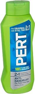 Pert Plus 2 in 1 Shampoo + Conditioner Dandruff Control 25.40 oz (Pack of 5)