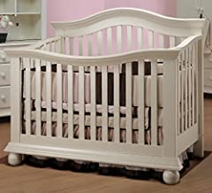Sorelle Vista Couture 4-in-1 Convertible Crib - French White