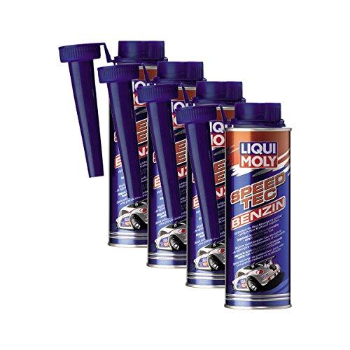 Liqui Moly 4 x 3720 Speed Tec Aditivo de gasolina Aditivo de combustible 250 ml