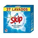 Skip Active Clean Detergente Polvo para Lavadora, 37 Lavados - 2220 gr