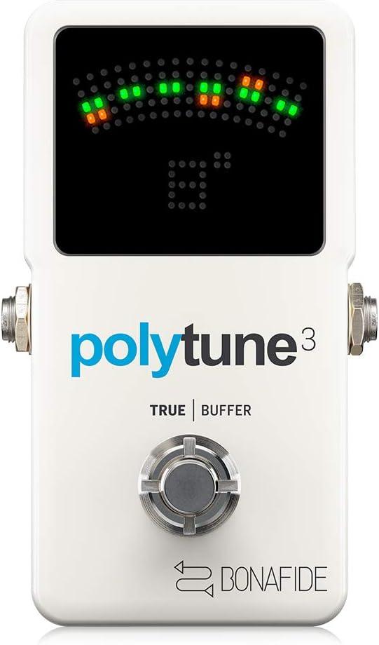 TC Electronic Polytune Arlington Mall Max 79% OFF 3 Compact Polyphonic Tuner Ultra