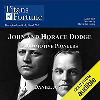 John and Horace Dodge audiobook cover art