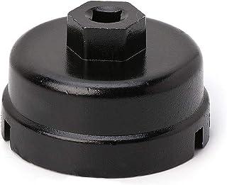 siwetg 64mm Llave de la Tapa del Filtro de Aceite para Toyota Camry Corolla Highlander RAV4