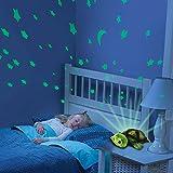 2in1Luz nocturna y proyector de estrellas para bebé infantil Turtle Tortuga, 3de colores de LED luces (Azul, Rojo y Verde) ajustable, función de apagado automático y muchas otras funciones, Nuevo