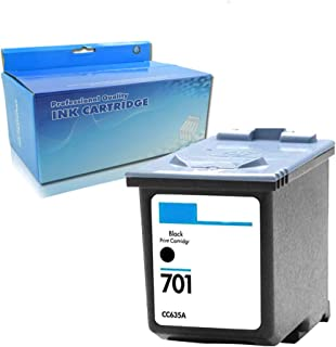Remanufactured Ink Cartridge Replacement for HP 701 CC635A (1 Black)
