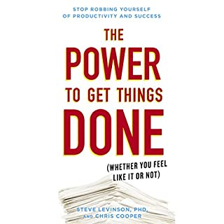 The Power to Get Things Done audiobook cover art