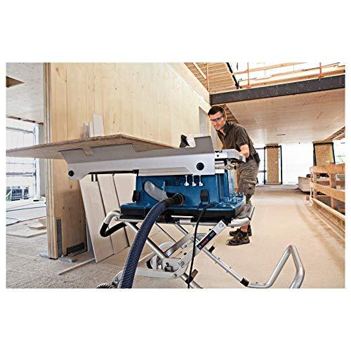 Bosch GTS 10 XC Professional Tischkreissäge, 2.100-Watt-Motor mit Motorbremse, Schnitthöhen bis 79 mm, Sägeblattdurchmesser 254 mm, Karton, 0601B30400 - 3