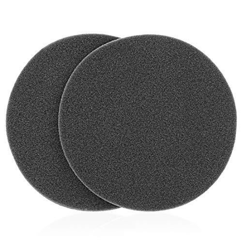 Geekria Almohadillas de espuma de aislamiento de sonido para auriculares, compatibles con Sennheiser HD250, HD560, HD560, HD560, HD560II (2 unidades)
