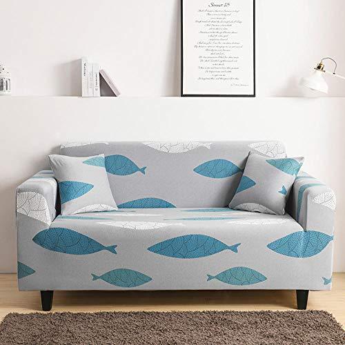 HXTSWGS Protector de Muebles Fundas sofá,Funda de sofá elástica, Funda de sofá de Banco de sofá de Silla elástica, Funda Protectora de Perro mascota-Color22_190-230cm