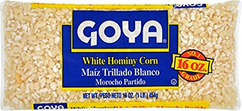 Goya Foods White Hominy Corn, 16 oz