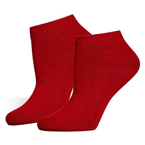 Safersox Sneaker Socken Bordeaux, 35-38