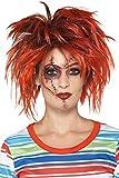Smiffy's - Chucky kit de maquillaje, color negro y rojo, M (42906)