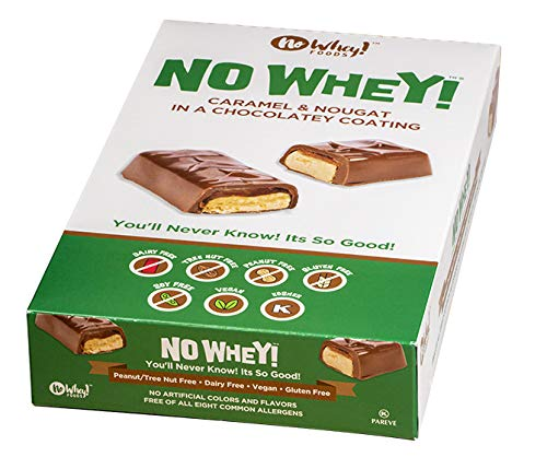 No Whey Foods - Chocolate Max 81% OFF Candy Nougat Ranking TOP19 12 and Bars Pack Caramel