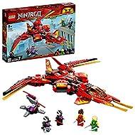 LEGO71704NINJAGOLegacyKaiFighterToyJetPlaysetwithNindroidActionFigures
