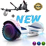 SOUTHERN-WOLF Hoverboard, Bluetooth 6.5 Pouces Self Balancing Scooter Gyropode avec Roues Flash LED...