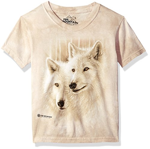 The Mountain Sunlit Soulmates Child T-Shirt, Green, XL
