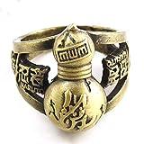 Coz' Place Bronze Naruto Gaara Gourd Ninja Cosplay Ring (with Box)