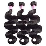 10A Brazilian Hair Body Wave 3 Bundles Deals Unprocessed Virgin Human Hair Extensions Brazilian Body Wave Wavy Weave Hair Human Bundles...