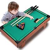 ZXQZ Mesa de Billar de Billar, Mesa de Billar Que Ahorra Espacio, para Niños de Best Toy Mini mesas de Billar