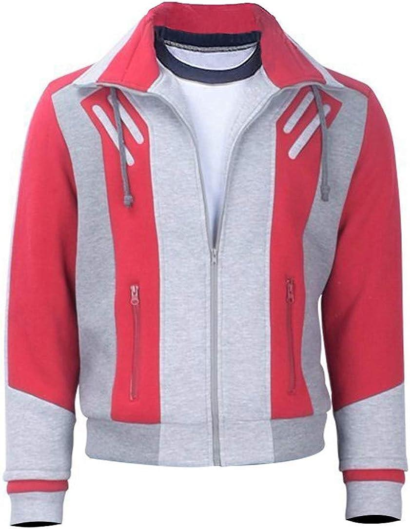 SKY-SELLER Teen Logan Superhero Halloween Fleece Jacket - Cosplay Costume Bomber Beast Jacket for Boys