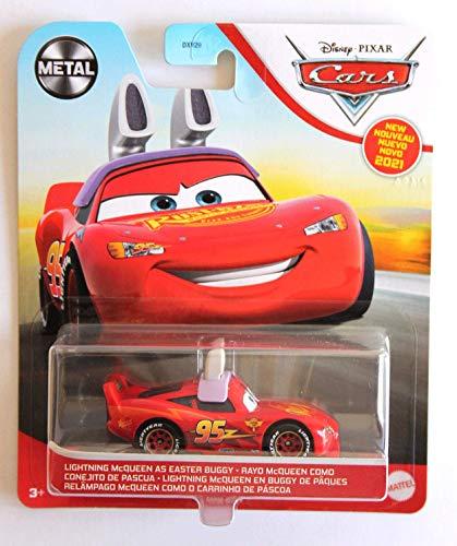 Disney Pixar Cars - Rayo McQueen como cochecito de Pascua
