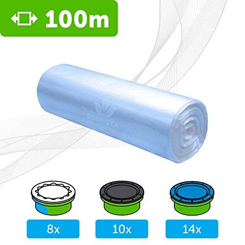 ECO Ricarica compatibile per mangiapannolini Tommee Tippee TEC Twist & Click Simplee | compatibile Angelcare | Litter Locker | Equivale 10 ricariche | compatibili al 100% | antiodore EVOH+