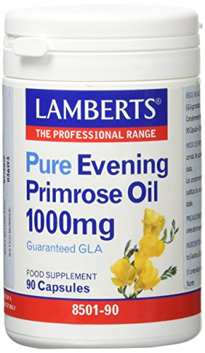 Lamberts Aceite de Prímula 1000mg - 90 Cápsulas
