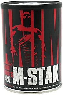 Universal Nutrition, Animal M-Stak, The Non-Hormonal Anabolic Stack, 21 Packs - 2pc