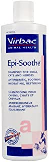 Virbac Epi-Soothe Pet Shampoo for Dogs, Cats & Horses (8 oz)