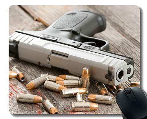 Yanteng Su Propio tapete Personalizado, Pistola Pistola de Bala Pistola Base de Goma Alfombrillas de ratón