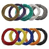 DX1210-1 電線・カラーコード 10色 10m*10個