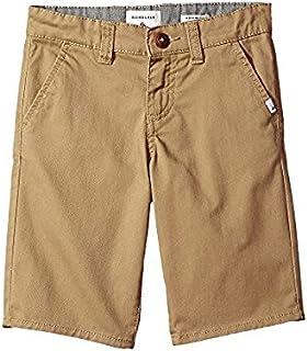 クイックシルバー Quiksilver Kids キッズ 男の子 ショーツ 半ズボン Elmwood Everyday Union Stretch Chino Shorts [並行輸入品]