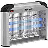 Hoont Electric Indoor Fly Zapper and Bug Zapper Trap Killer Catcher '€ Protects 6
