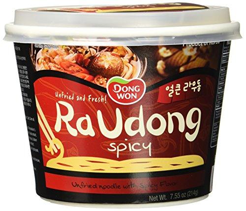 Dongwon Instant-Noodles Raudong, würzig-scharf (1 x 214 g)