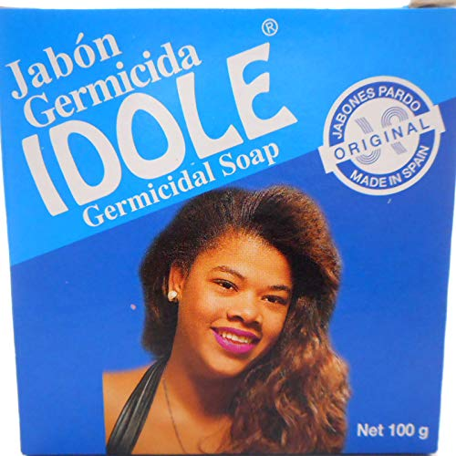 Idole Exfoliating Soap - Blue 3.5 oz.
